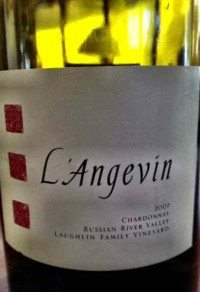 L'Angevin 2007 Laughlin Vineyard Chardonnay